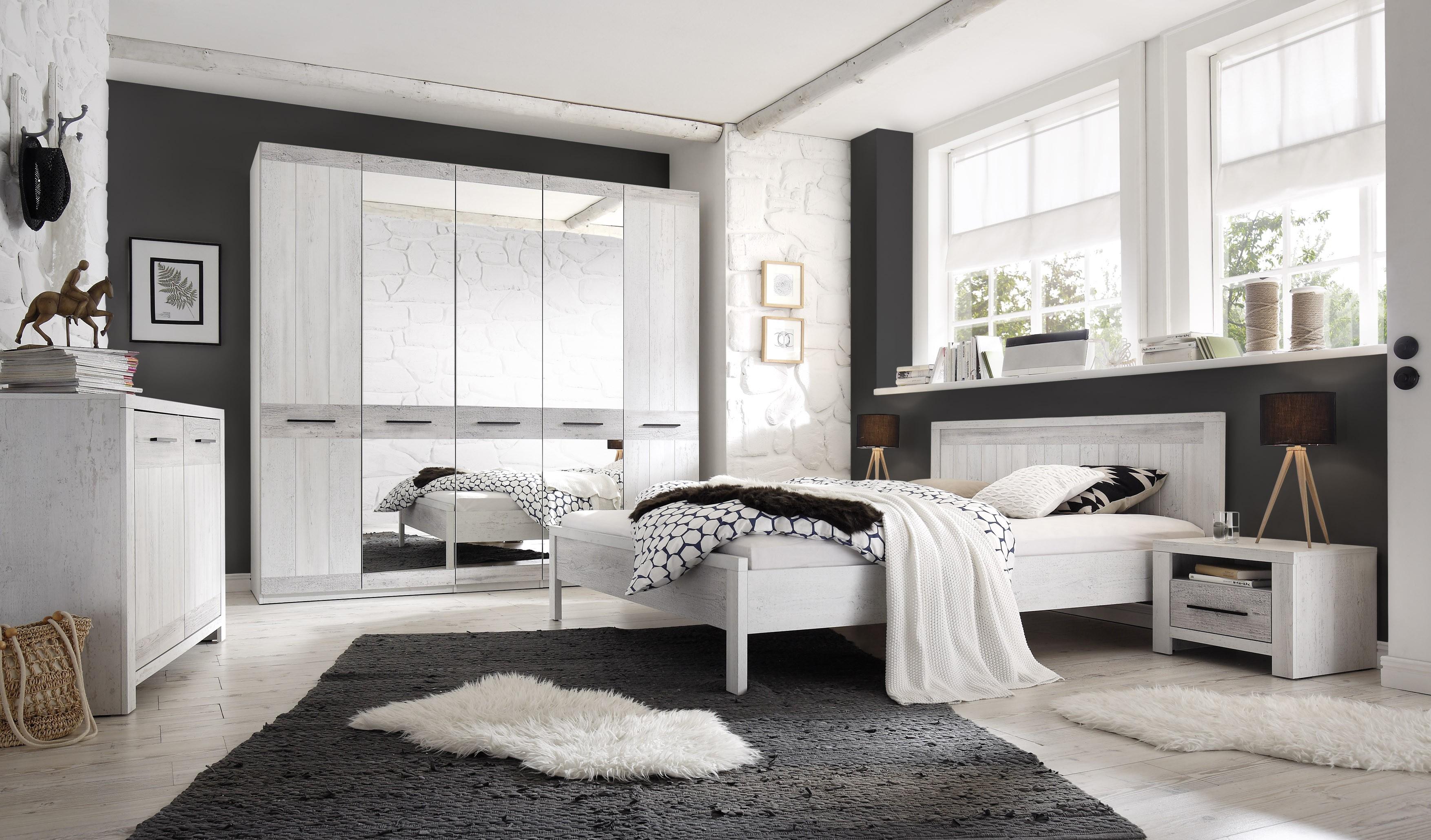 PAG spálňová zostava - skriňa, posteľ, nočné stolíky