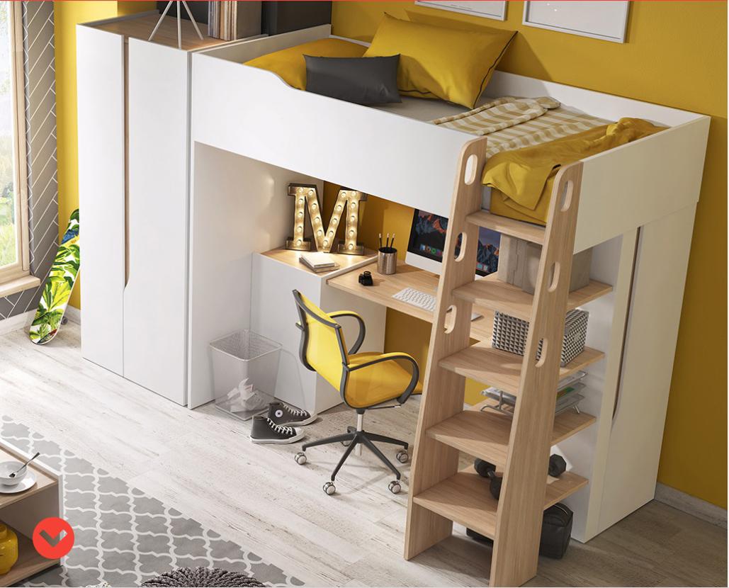 99981eee4bf09 BARI poschodová posteľ