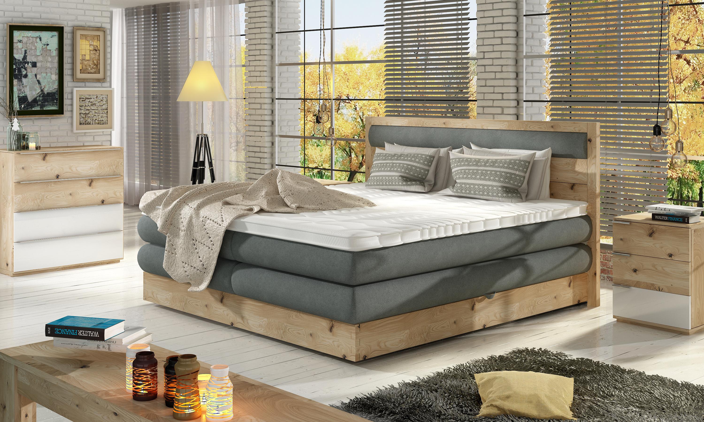 DIORI box spring posteľ s úložným priestorom