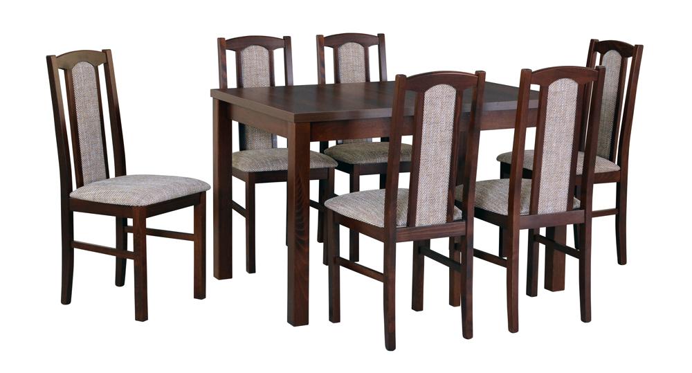 7d1658d5abfc stôl MAX V. + stoličky BOSS VII. (1+6)