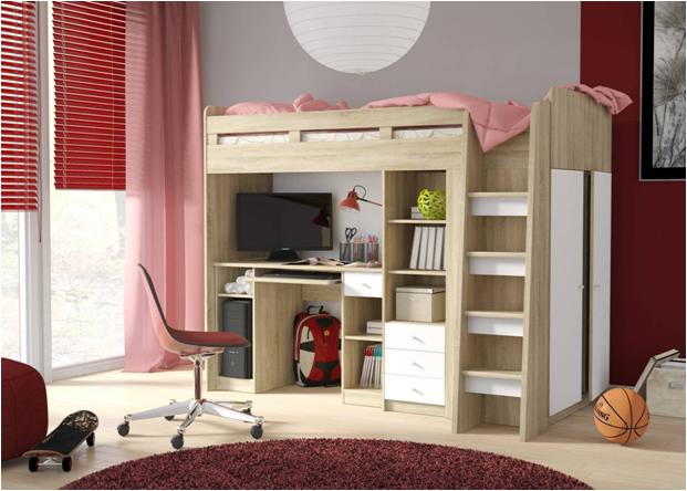 65d8ac96c6fb9 Detské a študentské izby   UNIT poschodová posteľ   ELBYT nábytok ...