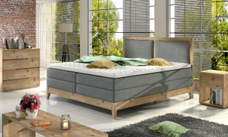 BELIZE boxspring massiv wood posteľ