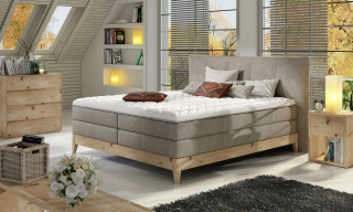 FOREST boxspring massiv wood posteľ