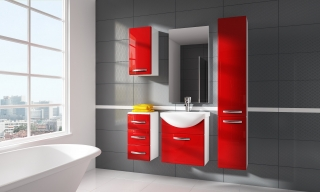 KORAL kúpelňový nábytok